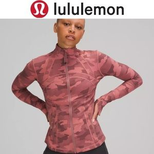 Lululemon Define Nulux Jacket, Camo Rose SZ:8, NWT